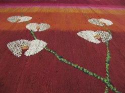 Silk, Beads, Mixed Fabrics (Hand-woven, Applique) 100cm x 248cm, 2012